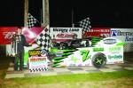 #7x Jesse Glenz-WISSOTA Modified Red Cedar Speedway win