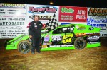 #57 Mike Anderson Rice Lake Speedway win