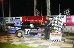 #37 Travis Anderson-WISSOTA Midwest Modified Red Cedar Speedway win