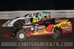 #4x Steve Stuart and #R1 Jay Richardson Racing action at ABC Speedway 9/28/13